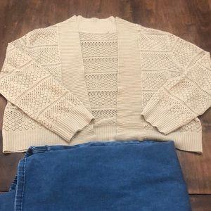 Super soft crop sweater
